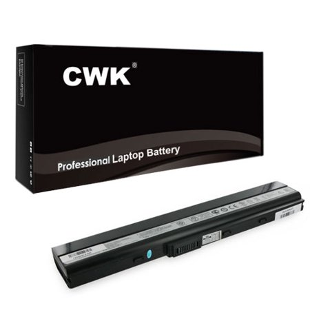 CWK Long Life Replacement Laptop Notebook Battery for Asus K42JK K42JR A32-K52 A31-B53 K42 K42F K42JV K52 K52F K52f-a1 K52f-sx051v K42D K42DR K42F K42J K42JA K42JB K42JC (Asus Laptop Battery Not Charging Windows 8)