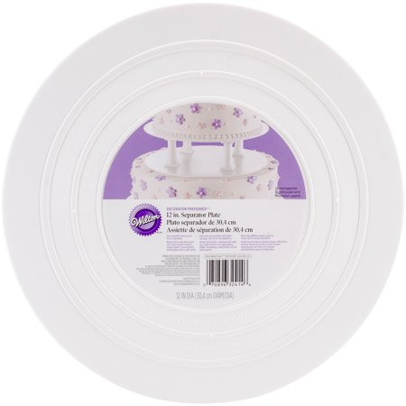 12 Inch Round Cake Plate - Wilton Decorator Preferred 12