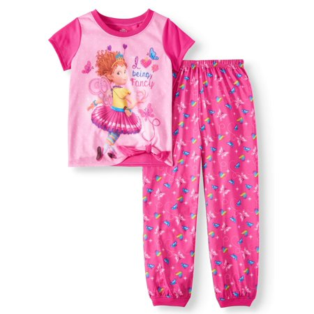 Girls' Fancy Nancy 2-Piece Pajama Sleep Set - Fancy Girls Pajamas