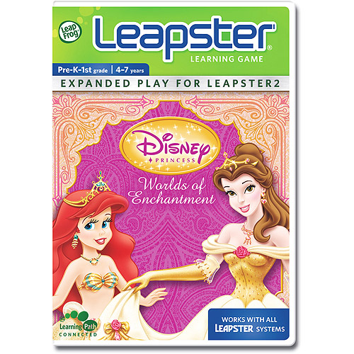 LeapFrog Leapster Learning Game Disney Princess Worlds Of Enchantment (New Open Box)