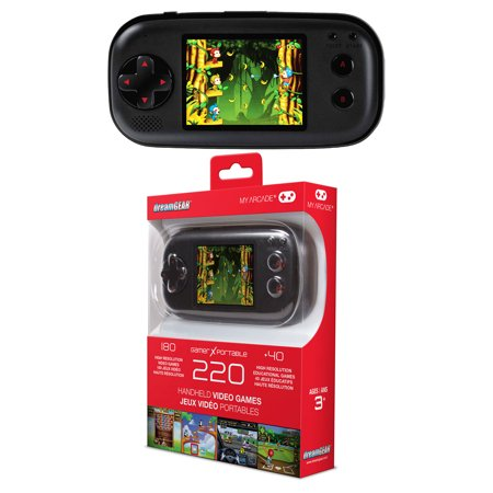 Dreamgear dgun 2580 gamer x portable handheld gaming for Gamer v portable