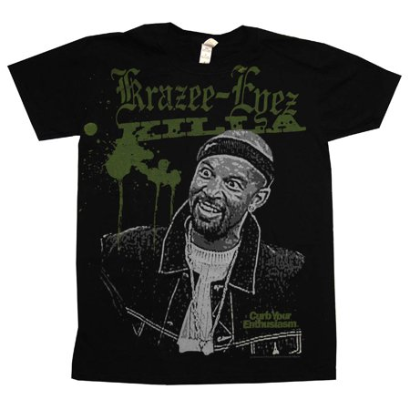 Curb Your Enthusiasm Krazee Eyez Killa Funny TV Show Adult T-Shirt (4 Your Eyez Only J Cole Shirt)