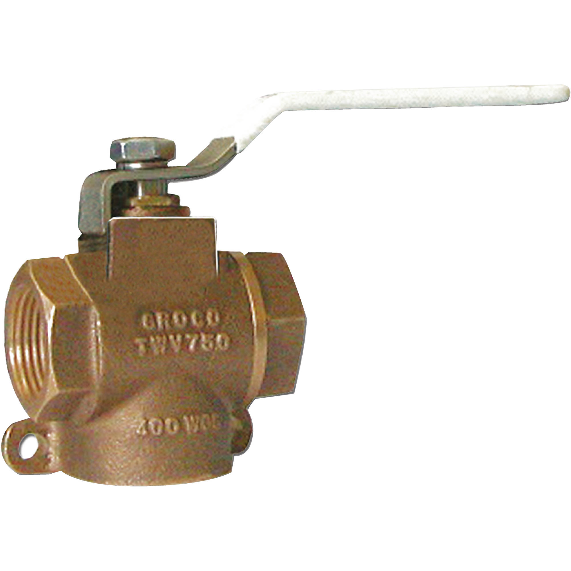 Groco TWV Bronze 3-Way Full Flow Valve