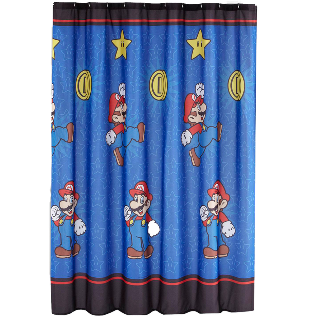 Franco Manufacturing Company Inc 16429819 Super Mario Shower Curtain Simply Best Bathroom Decoration