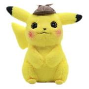 Pokemon Detective Pikachu Plush Doll Stuffed Toy Movie Gift for Kids New
