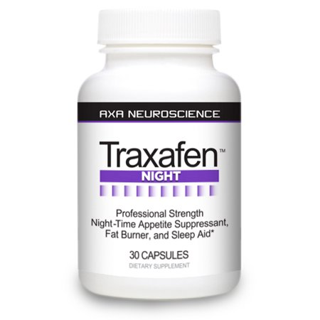 Traxafen Night - PM Diet Aid Burns Fat While You Sleep! Reduces