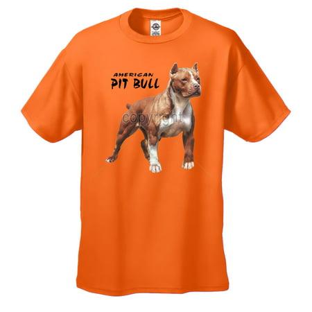 Pit Bull T-shirt American Pitbull Standing -