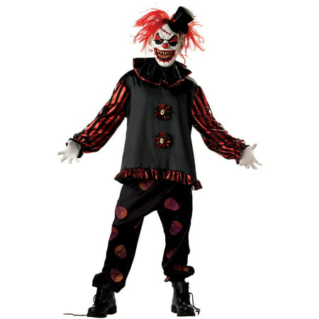 Carver the Killer Clown Adult Halloween Costume (Jigsaw Killer Costume)