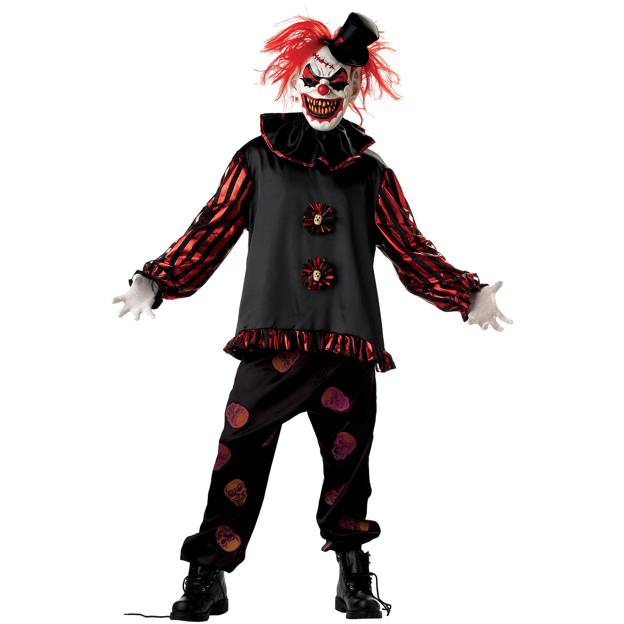 Carver the Killer Clown Adult Halloween Costume