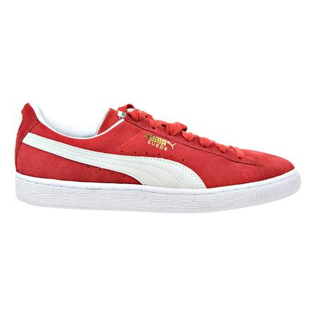 81c87a3af0bc PUMA - Puma Suede Classic Men s Sneakers High Risk Red-White 352634 ...