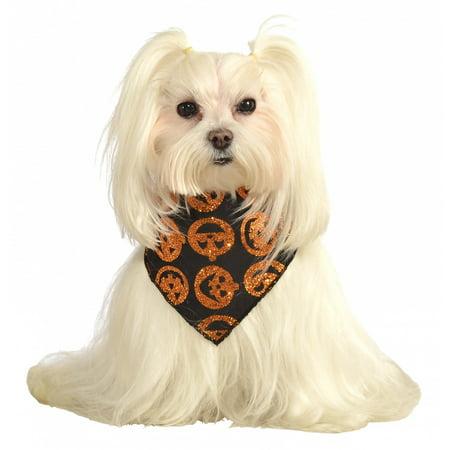 Bandana pour Chien Pet Costume Accessoire Pumpkins - Small / Medium
