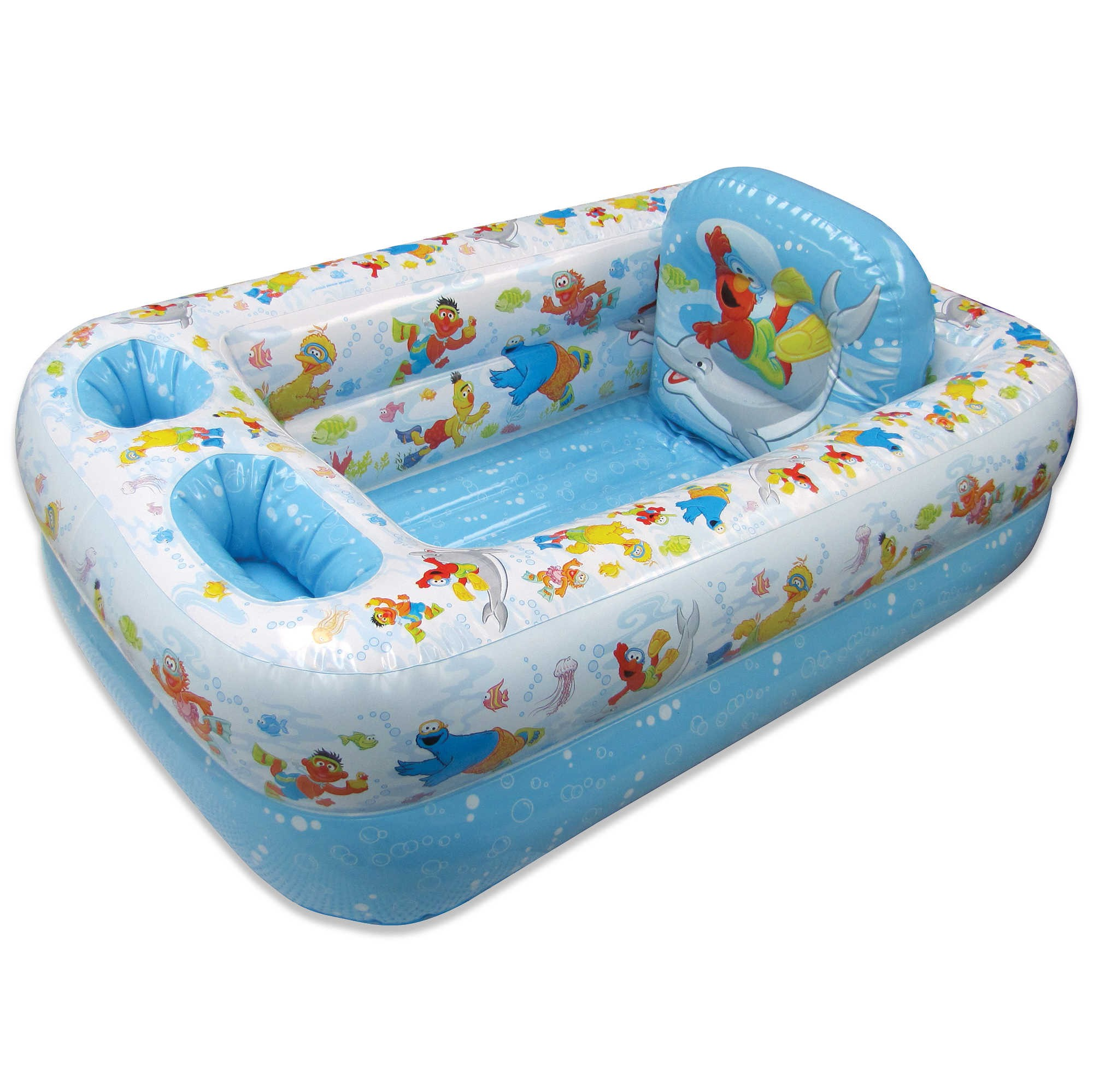 Ginsey Sesame Street Inflatable Bathtub