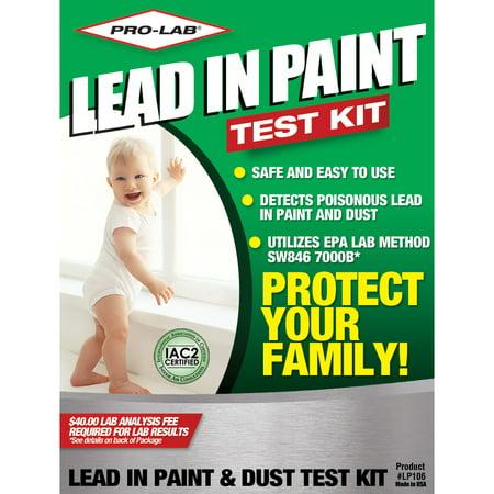 PRO-LAB Lead Paint and Dust Test Kit Lead Testing Lab