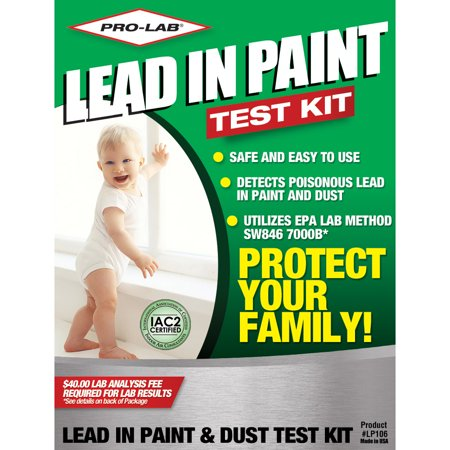 PRO-LAB Lead Paint and Dust Test Kit