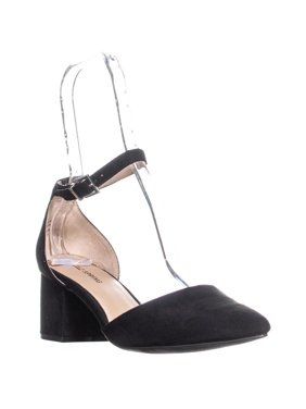 5bf71c6302ae0 Product Image Womens Call It Spring Aiven Block-Heel Ankle-Strap Pumps,  Black