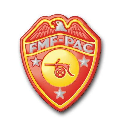 """MagNET US Marine FMF Artillery Decal Magnetic Sticker 3.8"""" by MilitaryDecals23"""