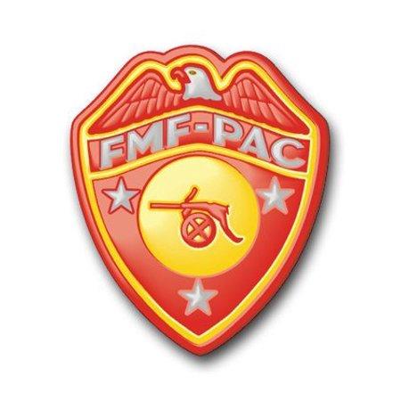 "US Marine FMF Artillery Decal Sticker 3.8"""