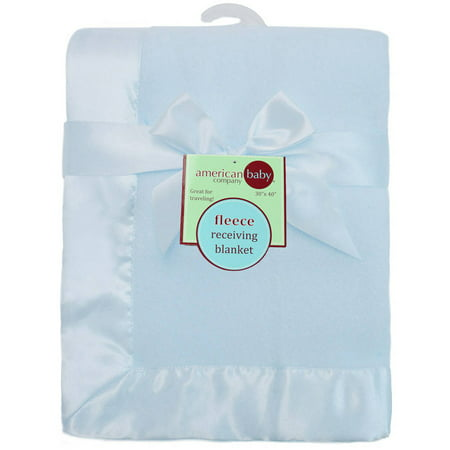 American Baby Company Fleece Blanket with 2
