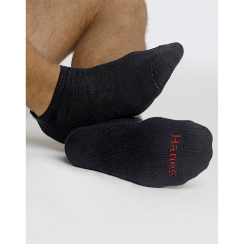 Hanes Men's 12 Pack No Show socks