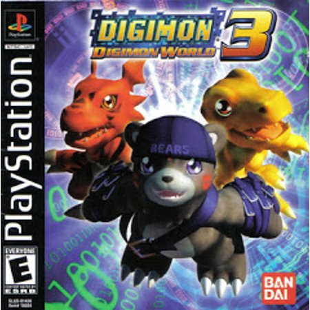 Digimon World 3 - Playstation (Refurbished)
