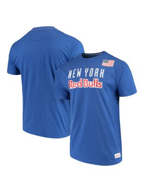 d36a8106e1e Product Image New York Red Bulls Mitchell   Ness Team History Tailored  T-Shirt - Navy