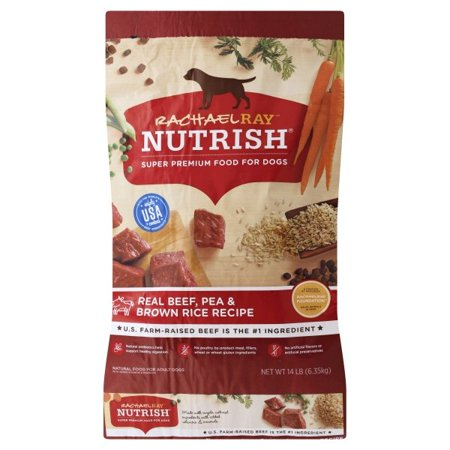 Recipe Natural (Rachael Ray Nutrish Natural Dry Dog Food, Real Beef, Pea & Brown Rice Recipe, 14)