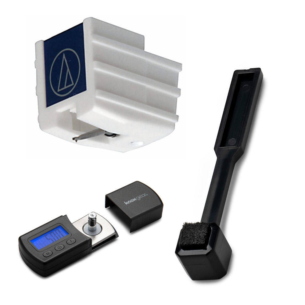 Audio-Technica ATP-N2 Replacement Stylus with Knox Gear Scale and Brush Bundle