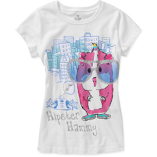 Girls' Hispter Hammy Graphic Tee