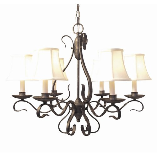 Woodbridge Lighting Manchester 6-Light Shaded Chandelier