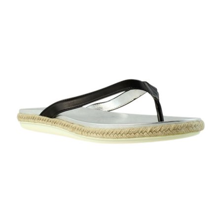 For Cheap Womens Sandals Vaneli Bryce Black Nappa Leather