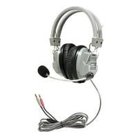 HamiltonBuhl SchoolMate Deluxe Headset with Gooseneck Microphone