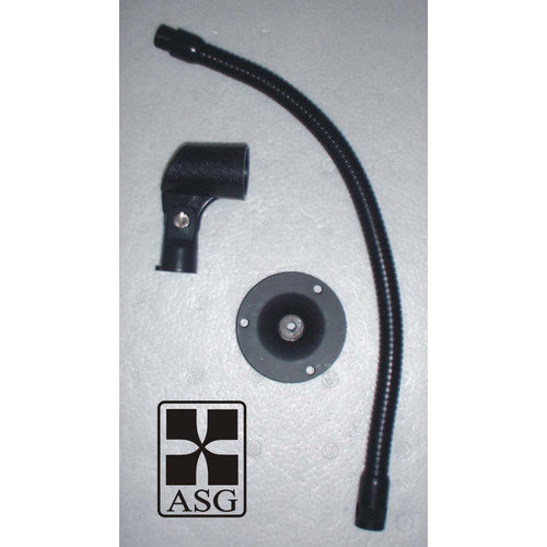 Audio Systems Group Goose Neck Flange and Mic Clip