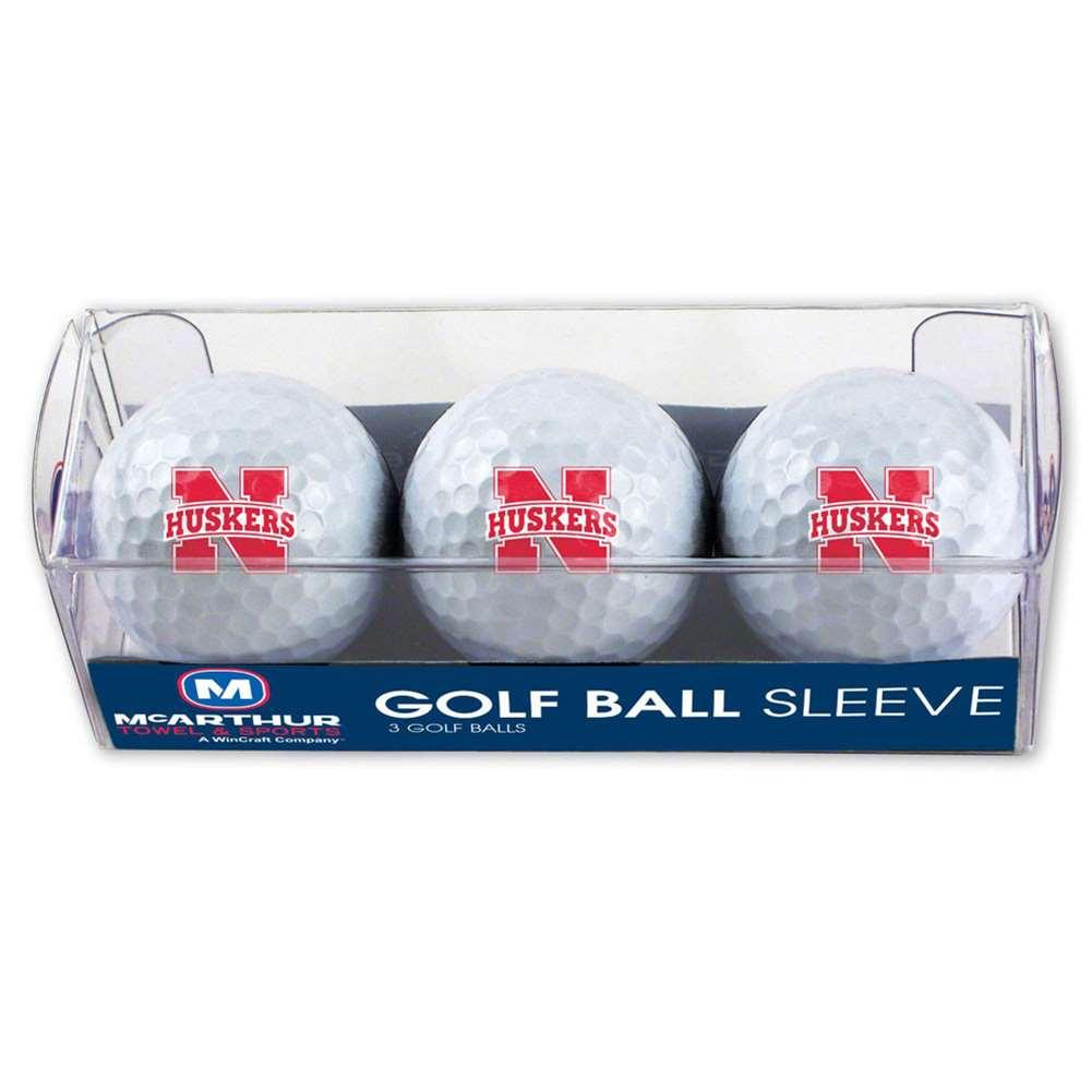 Nebraska Cornhuskers Golf Balls - 3 Pack