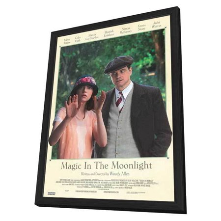 Magic in the Moonlight (2014) 11x17 Framed Movie Poster (Canadian)