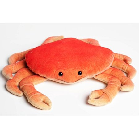 Dungeness Crab - 12 inch Cabin Critters Stuffed Animal -  Sea Life Collection
