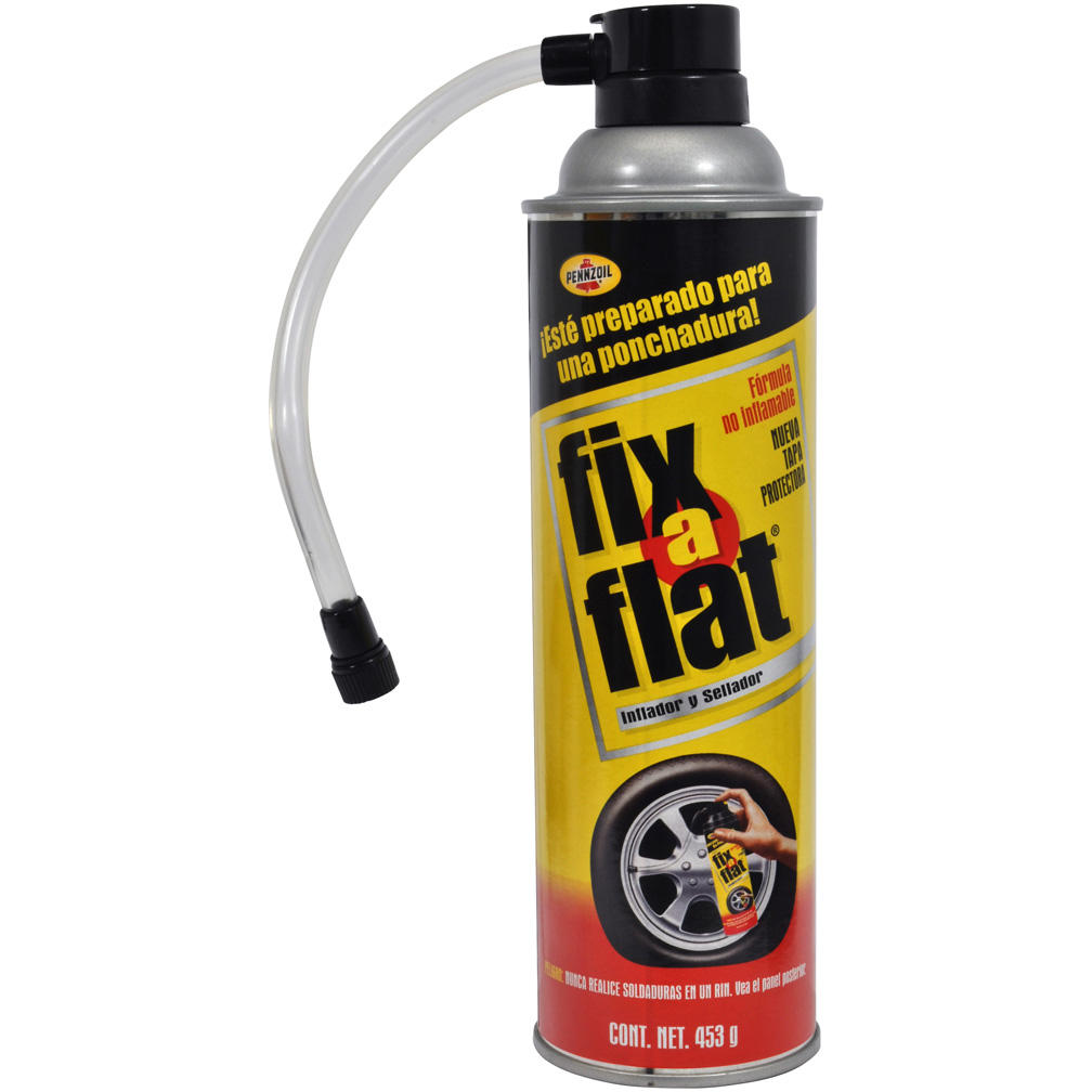 Pennzoil 16oz Can Fix a Flat *Spanish Labeling*