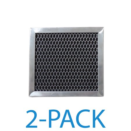 Supco RCP0545 Range Hood Filter (2-Pack) Charcoal filter specifically designed to fit Whirlpool range hoods and microwave ovens.