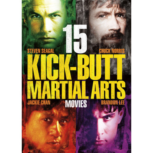15 Kick-Butt Martial Arts DVD Collection by Generic