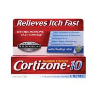 Cortizone Maximum Strength Cortizone 10 Creme 1 oz Cream