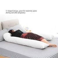 HURRISE Oversized U-shaped Full Body Maternity Pillow Pregnancy Nursing Sleeping Support,U-shaped Pregnancy Pillow,Pregnancy Support Pillow