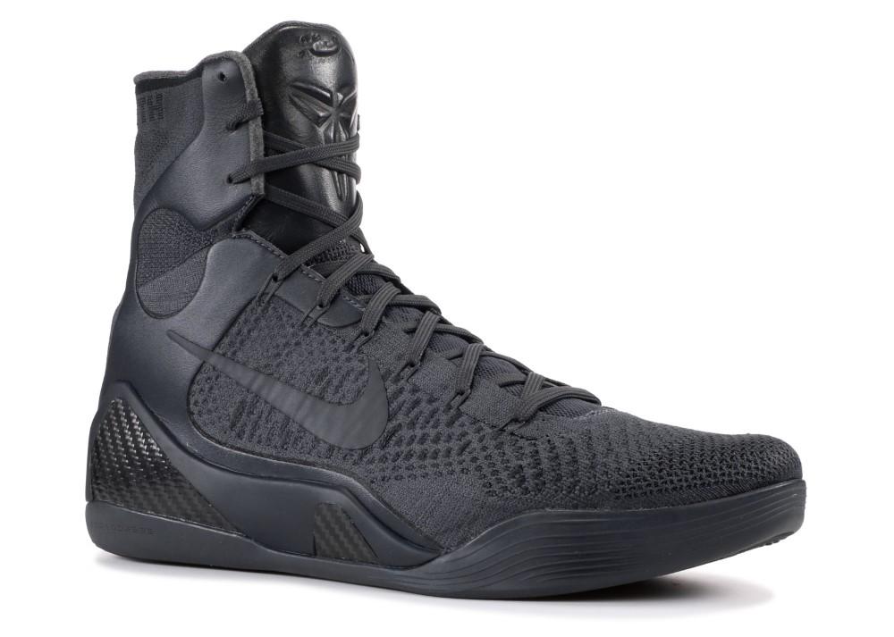 Nike - Men - Kobe 9 Elite Ftb  Fade To Black  - 869455-002 - Size 9 ffc11608b72f