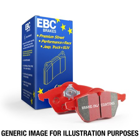 EBC Brakes DP32147C EBC Redstuff Ceramic Low Dust Brake Pads Fits Genesis Coupe - image 1 de 2