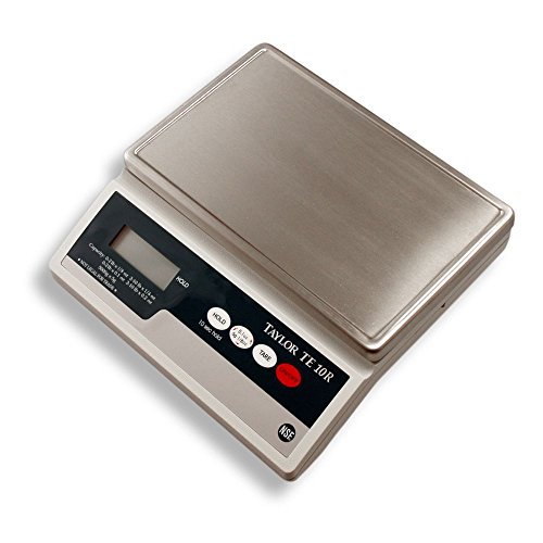 Taylor Stainless Steel Electronic Digital Portion Control Scale, 10 lb. | 1 Each