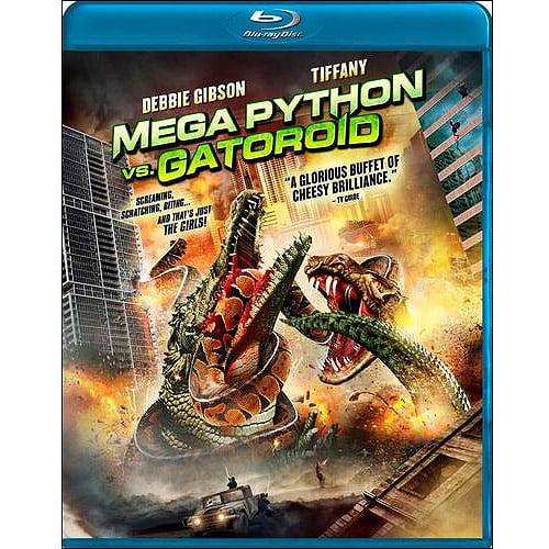 Mega Python Vs. Gatoroid (Blu-ray) (Widescreen)