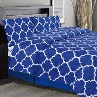 Holbrooke Sheet Set, Blue - Double Size