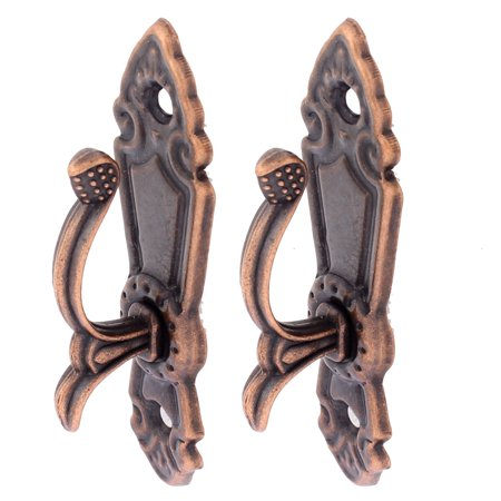 Window Tie Backs - Bedroom Living Room Window Curtain Tieback Holders Wall Hooks Bronze 2pcs