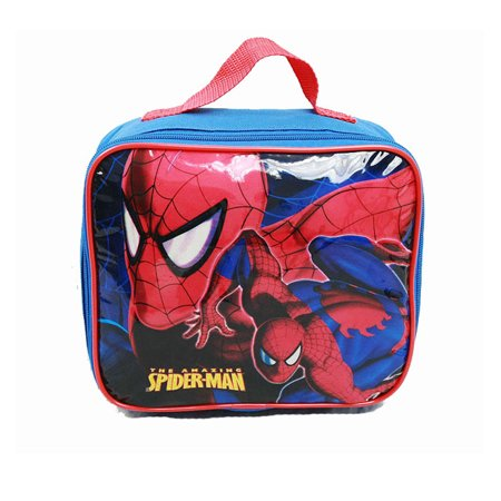 Lunch Bag - Marvel - Spiderman - Climbing w/Water Bottle Boys Gifts New spco01