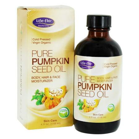 Life-Flo - Pure Pumpkin Seed Oil - 4 fl. - Pumpkin Owl