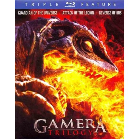 Gamera Trilogy  Guardian Of The Universe   Attack Of Legion   Revenge Of Iris  Blu Ray
