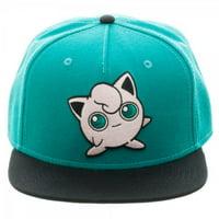 Baseball Cap - Pokemon - Jigglypuff Color Block Snapback New sb3f3xpok